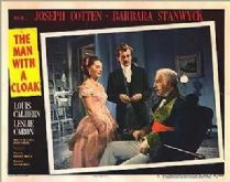 The Man with a Cloak 1951 DVD - Joseph Cotten / Barbara Stanwyck